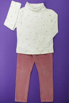 vetements d occasion enfant Ensemble pantalon et sous-pull Okaïdi 4 ans Okaïdi