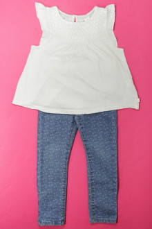 vetements enfants d occasion Ensemble jean et tee-shirt Okaïdi 4 ans Okaïdi