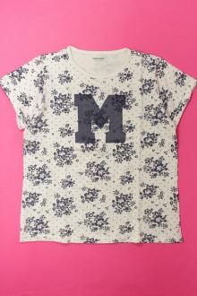 vetements enfants d occasion Tee-shirt manches courtes fleuri Vertbaudet 12 ans  Vertbaudet