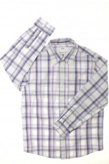 vetements enfant occasion Chemise à carreaux - NEUF CFK 8 ans CFK