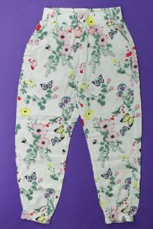 vêtements occasion enfants Pantalon fluide fleuri H&M 6 ans H&M
