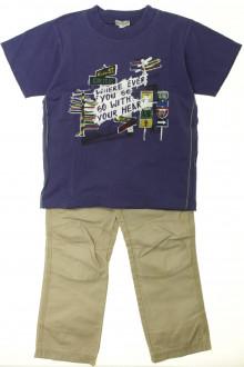 vetement d occasion enfant Ensemble pantalon et tee-shirt Confetti 4 ans Confetti