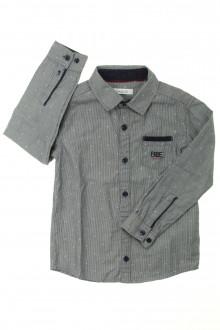 vêtements occasion enfants Chemise à fines rayures Okaïdi 4 ans Okaïdi