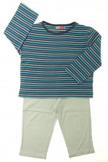 vetement occasion enfants Pyjama en coton DPAM 3 ans DPAM