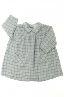 vêtements bébés Robe en lainage à carreaux Jacadi 12 mois Jacadi