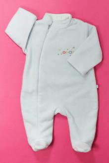 vetement bébé d occasion Pyjama/Dors-bien en polaire Obaïbi 3 mois Obaïbi