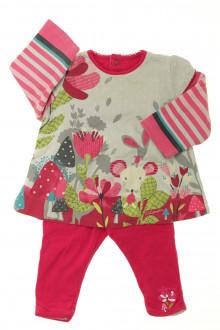 habits bébé Ensemble tee-shirt et pantalon Catimini 6 mois Catimini
