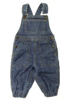 vêtements bébés Salopette en jean Petit Bateau 6 mois Petit Bateau