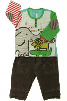 habits bébé Ensemble pantalon et tee-shirt Catimini 6 mois Catimini