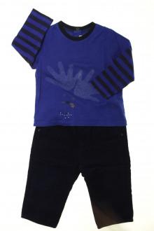 vêtements bébés Ensemble pantalon et tee-shirt Catimini 12 mois Catimini