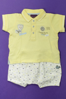 Habits pour bébé Ensemble short et polo Sergent Major 3 mois Sergent Major