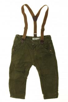vêtements bébés Pantalon en velours fin Zara 18 mois Zara