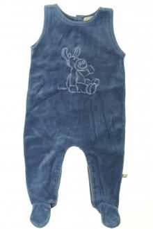 Habits pour bébé occasion Pyjama/Dors-bien en velours sans manches Noukie's 9 mois Noukie's