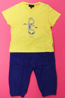 Habit de bébé d'occasion Ensemble pantalon de jogging et tee-shirt Paul Smith 18 mois Paul Smith