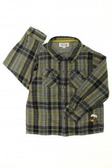 vêtements enfants occasion Chemise à carreaux La Compagnie des Petits 4 ans La Compagnie des Petits