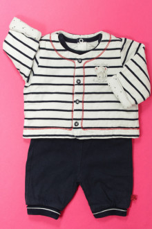 habits bébé occasion Ensemble pantalon, tee-shirt et gilet Sergent Major 1 mois Sergent Major