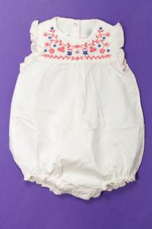 Habits pour bébé Barboteuse brodée Petit Bateau 6 mois Petit Bateau
