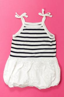 habits bébé occasion Barboteuse rayée Gap 3 mois Gap