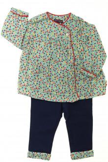Habit de bébé d'occasion Ensemble blouse et pantalon Sergent Major 12 mois Sergent Major
