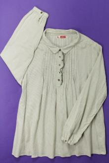 vêtements enfants occasion Blouse à fines rayures DPAM 10 ans DPAM