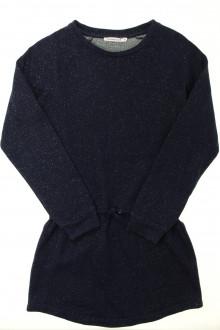 vêtements enfants occasion Robe brillante à manches longues Monoprix 10 ans Monoprix