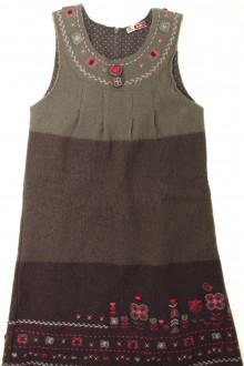 vetements enfant occasion Robe en laine bouillie DPAM 10 ans DPAM