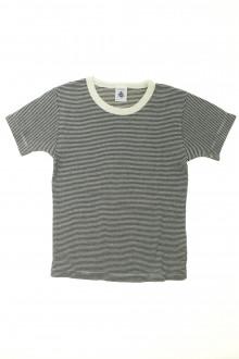 vetements enfants d occasion Tee-shirt manches courtes milleraies Petit Bateau 6 ans Petit Bateau