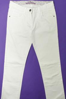 vêtements enfants occasion Jean blanc CFK 12 ans CFK