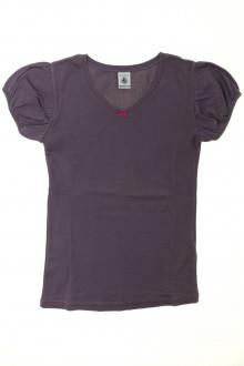 vetement occasion enfants Tee-shirt manches courtes Petit Bateau 10 ans Petit Bateau