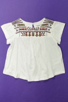 vetement occasion enfants Tee-shirt manches courtes brodé Vertbaudet 3 ans Vertbaudet