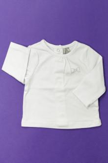 habits bébé Tee-shirt manches longues Orchestra 1 mois Orchestra