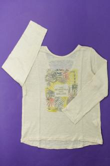 vetement enfant occasion Tee-shirt manches longues en lin Tape à l'Œil 6 ans Tape à l'œil