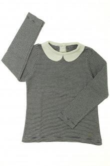 vetement occasion enfants Tee-shirt manches longues milleraies Petit Bateau 4 ans Petit Bateau