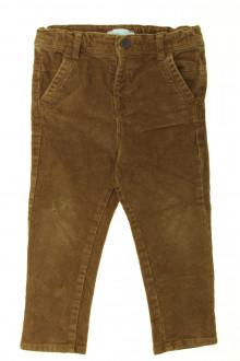vêtements occasion enfants Pantalon en velours fin Obaïbi 2 ans Obaïbi