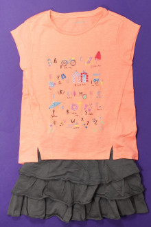 vetement marque occasion Ensemble jupe et tee-shirt Verbaudet 6 ans Verbaudet