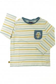 vêtements occasion enfants Tee-shirt manches longues rayé Sergent Major 3 ans Sergent Major
