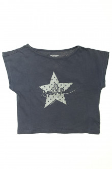 vetements d occasion enfant Tee-shirt manches courtes cropped Vertbaudet 8 ans Vertbaudet
