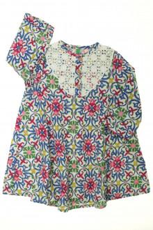 vêtements d occasion enfants Robe fleurie Benetton 4 ans Benetton