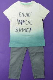 vetements enfants d occasion Ensemble pantalon et tee-shirt Vertbaudet 3 ans Vertbaudet