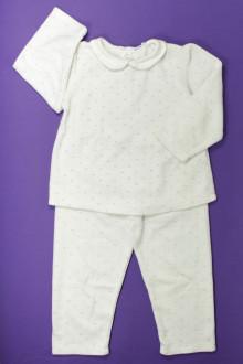 vetements d occasion enfant Pyjama en velours Bout'Chou 3 ans Bout'Chou