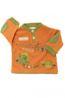 Habit d'occasion pour bébé Tee-shirt manches longues La Compagnie des Petits 1 mois La Compagnie des Petits