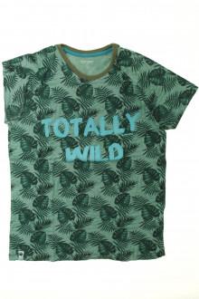 vêtement enfant occasion Tee-shirt manches courtes rayé Vertbaudet 10 ans Vertbaudet