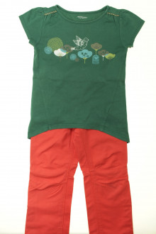 vetement occasion enfants Ensemble pantalon et tee-shirt Vertbaudet 5 ans Vertbaudet