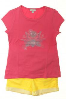 vetement d'occasion enfants Ensemble short et tee-shirt Miniman 8 ans Miniman