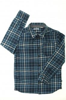 vetement enfants occasion Chemise à carreaux Okaïdi 8 ans Okaïdi