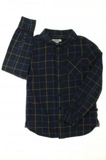 vetement marque occasion Chemise à carreaux Okaïdi 8 ans Okaïdi