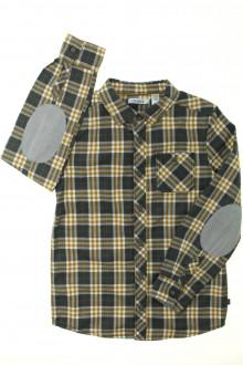 vetement occasion enfants Chemise à carreaux Okaïdi 8 ans Okaïdi