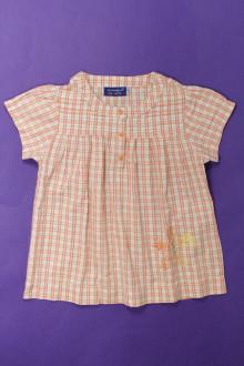 vêtements enfants occasion Blouse à carreaux La Compagnie des Petits 6 ans La Compagnie des Petits