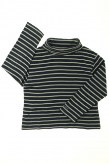 vêtements occasion enfants Sous-pull rayé Okaïdi 5 ans Okaïdi