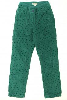 vêtements enfants occasion Pantalon en velours fin à pois Vertbaudet 6 ans Vertbaudet